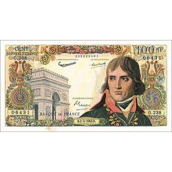 100 Nouveaux Francs...