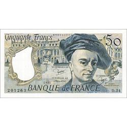 50 Francs Quentin de la...