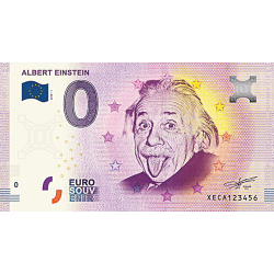 Billet 0€ Albert Einstein