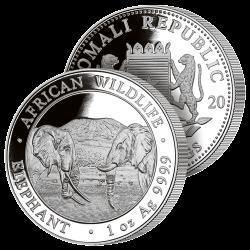 100 Shillings Éléphants 2020