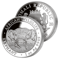 100 Shillings Éléphants 2020