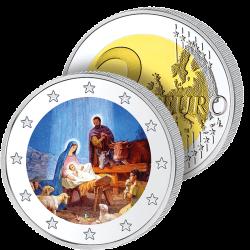 2 €uros Nativité 2019