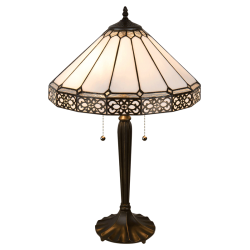Lampe Cristal Art Déco