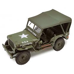 Jeep D-DAY 1944 capotée
