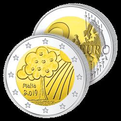2 Euros Malte 2019 – Nature...