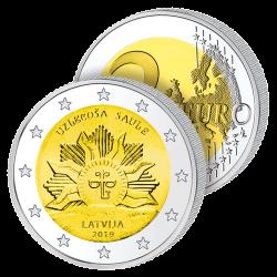 2 Euros Lettonie 2019 – Le...