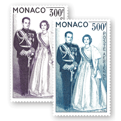 Couple Princier de Monaco...