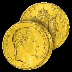 20 Francs Or Napoléon III...