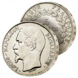 5F Argent Louis-Napoléon Bonaparte I
