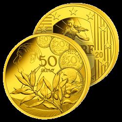 50 Euros Or Pur Semeuse