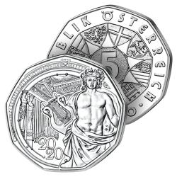 5€ Argent du Nouvel An