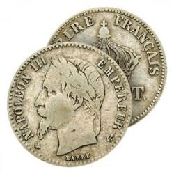50 Cent. Argent Napoléon III