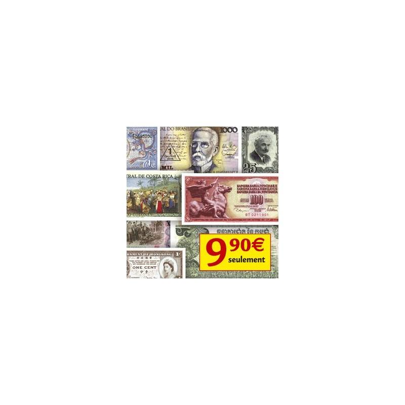 Les 25 Authentiques Billets du Monde