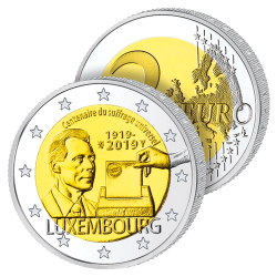 2 Euros Luxembourg 2019 –...