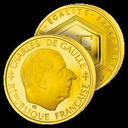 Le Franc Or Charles de Gaulle