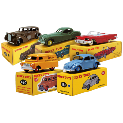 Les 5 Fameuses Dinky Toys