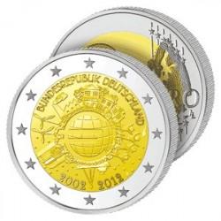 2€ 10 ans de l'Euro - Allemagne