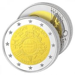 2€ 10 ans de l'Euro - Finlande