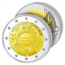 2€ 10 ans de l'Euro - France