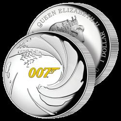 Dollar Haut Relief James Bond