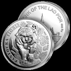 Tigre du Laos Argent Pur 2020