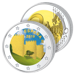 2 Euros Espagne Couleurs –...