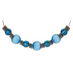 Le Collier Bleu de Perles