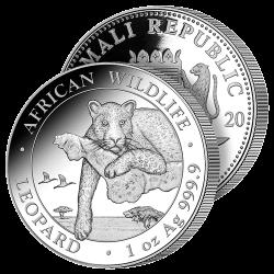 100 Shillings Léopard 2020