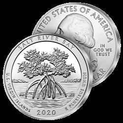 Monnaie Géante Îles Vierges