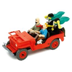 La Jeep de Tintin