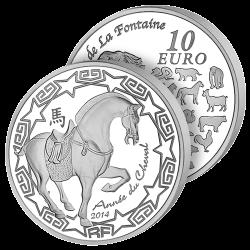 10 Euros Argent France...