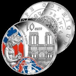 10 Euros Argent Notre-Dame...