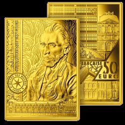 50 Euros Or Pur Van Gogh 2020