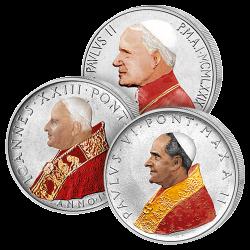 Les 3 Monnaies Vatican en...