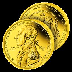 50 Euros Or La Fayette 2020