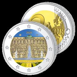 2 Euros Allemagne Couleurs...