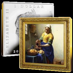 Dollar Argent Pur Vermeer