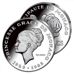 10 Francs Argent Grace de Monaco