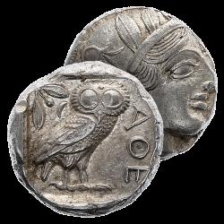 La Fabuleuse Monnaie d'Athènes