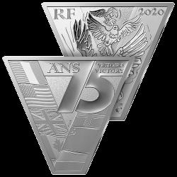10€ Argent Victoire & Paix
