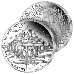 10€ Argent Mont Saint-Michel