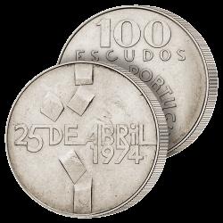 100 Escudos Révolution des...
