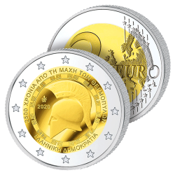2 Euros Grèce 2020 –...