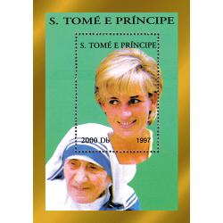 Mère Teresa et Lady Diana