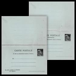 Carte Entier Philatélique...
