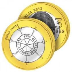 3 Euros Slovénie - Première médaille Olympique