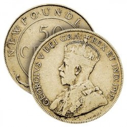 Le Demi Dollar de George V