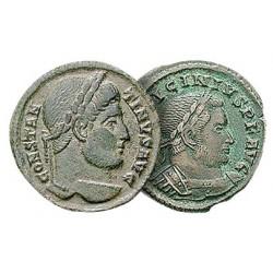 Les 2 Monnaies de la Paix des Chrétiens