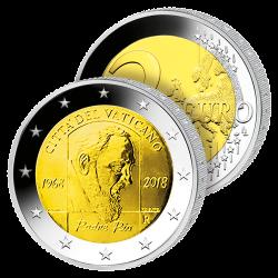2 Euros Vatican 2018 –...