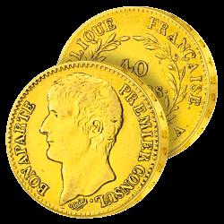40 Francs Or Bonaparte...